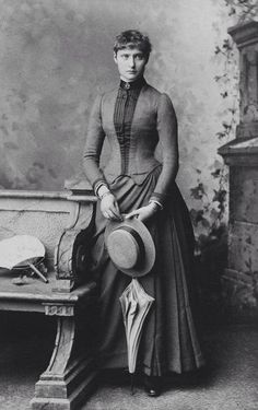 c04eefcf2e9d3 Princess Alix of Hesse (Darmstadt) and by Rhine.the future Empress  Alexandra Feodorovna of Russia.