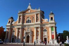 Cattedrale di Carpi, Italia — Foto Editoriale Stock © frizio #152385708