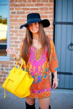{The Colorful Hippie}  #Style #Fashion #Fall #Autumn #Boots #Dress #Hat #Nordstrom #Celine #JCrew #Hair #Makeup #Blogger #Blog #FashionBlogger #StyleBlogger #Lifestyle
