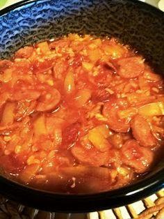 Alföldi receptek: Lecsós bulgur Quinoa, Grilling, Curry, Food And Drink, Favorite Recipes, Ethnic Recipes, Bulgur, Curries, Crickets