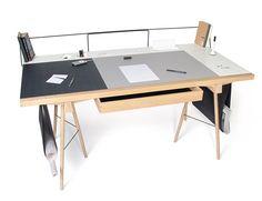 Homework Desk | Designer: Robin Grasby - http://www.robingrasby.com