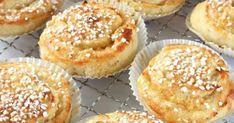 Herkullista Baking Recipes, Cookie Recipes, Dessert Recipes, Desserts, Swedish Recipes, Sweet Recipes, Coffee Bread, Scandinavian Food, Bagan