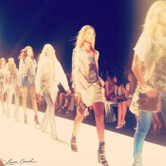 The runway from Rebecca Minkoff's Spring 2013 collection. #nyfw
