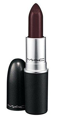 """MAC Lipstick in """"Sin"""" is the perfect, stay-all-day moody matte for fall.   23 Of The Best Lipsticks You Can Get On Amazon"""