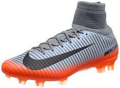new style 66296 bc96b Amazon.com   Nike Mercurial Veloce III DF CR7 FG 852518-001 Grey Hematite  Men s Soccer Cleats   Soccer