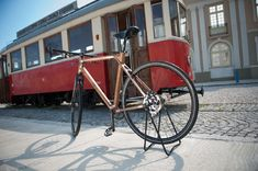 žarko bubalo: sustainable wooden bicycles - designboom | architecture & design magazine