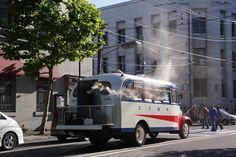 北海道中央バスの木炭バス