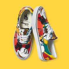 The Disney and Vans Young at Heart Collection is Now Available! Mickey  Mouse Vans f145bd1c794b