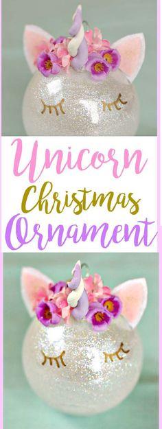 UNICORN CHRISTMAS ORNAMENT – Medi Idea