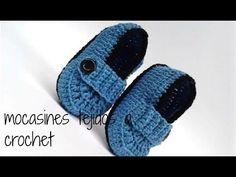 BOTITAS PARA BEBE EN CROCHET FACIL //crochet  baby booties - YouTube