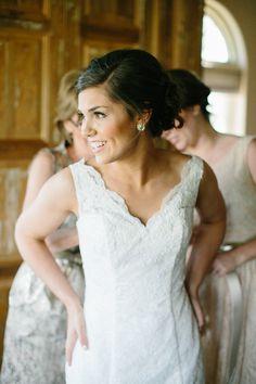 gorgeous lace gown | Josh McCullock #wedding