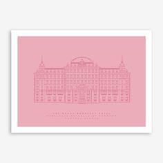 Grand Budapest Hotel A3 Print  https://www.iamfy.co/designer/mat-voyce