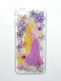 Handmade phone case, iphone 6/6S  plus, Princess Rapunzel via Annysworkshop