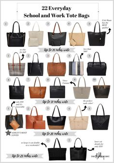 8bf15e477e2 Everyday Large School and Work Tote Bags Under $150 for College Students  and Professionals Satchel Bags