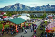Alaska State Fair.    Palmer, Alaska.