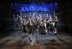 http://triangleartsandentertainment.org/wp-content/uploads/2016/01/MatildaIPHOTOJoanMarcus-DPAC2016.jpg - Four-Time 2013 Tony Award® Winner  Matilda the Musical Dramatizes Roald Dahl's Book - The students of Miss Trunchbull's school jump for joy in Matilda the Musical (photo by Joan Marcus) The Durham Performing Arts Center will present Broadway's latest box-office sensation, four-time 2013 Tony Award® winner Matilda the Musical, based on Roald Dahl's 1988