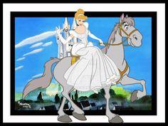 Cinderella [feat. Major] (Horses by Rob32 @deviantART) #Cinderella