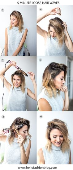 DETAILS: CURLING IRON || GREY TURTLENECK TANK (LOVE THIS ONE | DRESS VERSION HERE) || DISTRESSED DENIM || GOLD WATCH || NUDE FLATS || BOBBY-PINS || CLEAR ELASTIC HAIRBANDS || KNIT HEADBAND Does ...