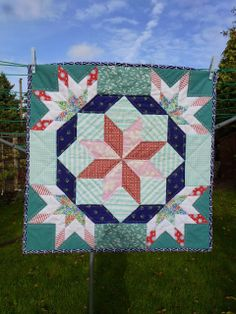 Heavenly Stars - in Country Quilts by Linda Seward