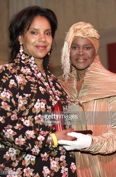 Phylicia Rashad and 2006 Spotlight Award winner Cicely Tyson