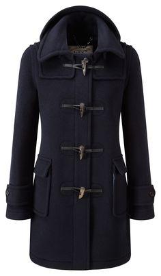 Womens London Duffle Coat -- Navy