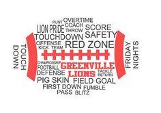 Greenville Lions Football Shirt