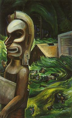 Zunoqua of the Cat Village by Emily Carr