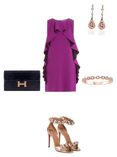 """Без названия #75"" by chkristina on Polyvore featuring мода, Alaïa, Boutique Moschino и Hermès"