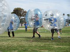 Family Reunion Games - Bubble Soccer