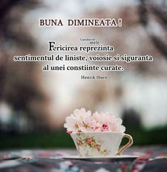 Imagini buni dimineata si o zi frumoasa pentru tine! - BunaDimineataImagini.ro Motto, Good Morning, Religion, Thoughts, Day, Quotes, Google, Bonjour, Good Day