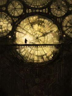 Tiempo,relojes, torre del reloj, humano