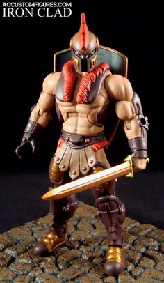 Iron-Clad (Masters of the Universe) Custom Action Figure