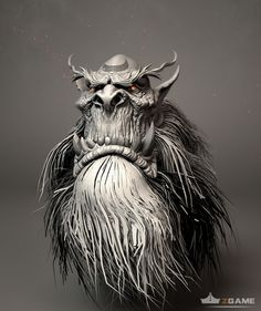 ZBrush sketchbook of kai hu