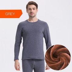 Underwear Winter Men Warm Thermal Underwear Men Long Johns Thermal Underwear Sets Thick Velvet Long Johns Sets