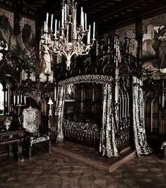 25 Surprisingly Stylish Gothic Bedroom Design and Ideas & 611 best Gothic Bedroom Interior Design Ideas images on Pinterest in ...
