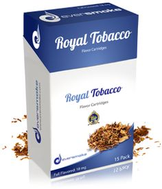 $40, Royal Tobacco encompasses a refined and smooth taste.