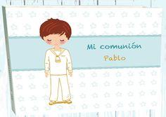 Album comunion niño modelo Pablo