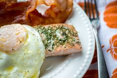 Salmon for Breakfast! Recipe