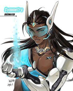 오버워치의 그가 그녀로? [성별 바꾸기 팬아트 편] : 네이버 포스트. Overwatch Symmetra genderbend.
