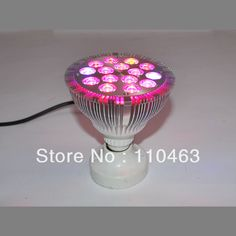New Style professional 15W E27 grow lamp plant light flower light PAR 112x121mm 15pcs*1W 390lm bulb light outdoor grow light  #Affiliate
