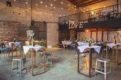 22 ideas para decorar un banquete de bodas tipo cóctel | Tienda online de decoración y muebles personalizados