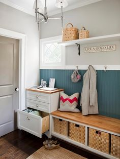 Mudroom Storage Idea