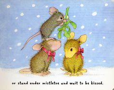 House Mouse Christmas page 17.