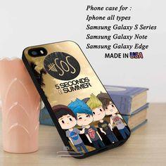 iPhone SE Case | 5SOS Cute Chibi Collage Art | Samsung S7 Case #5sos Samsungiphonecase.com yn