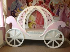 Princess Carriage Toddler Bed Princess Bed Prince Crib Sets … big toddler beds Gone are the days when decorating was a deal. Twin Princess Bed, Princess Bedrooms, Princess Room, Cinderella Carriage Bed, Princess Carriage Bed, Cinderella Bed, Diy Toddler Bed, Castle Bed, Deco Restaurant