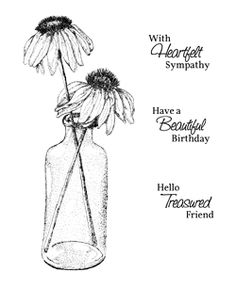 Free Coneflowers Digital Stamp Set                                                                                                                                                                                 More