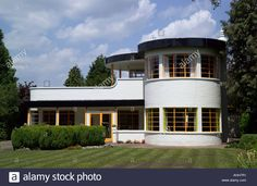 The Sun House In Cambridge Uk. A Grade 2 Listed Home In Art Deco ...