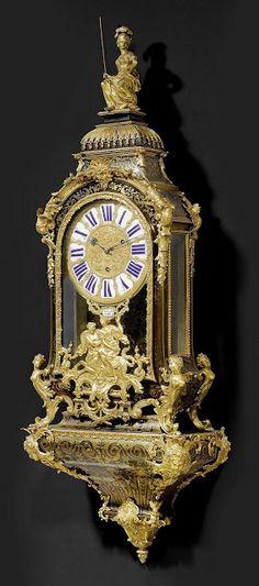 Régence boulle bracket clock, 19th century Paris.1827