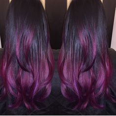 Good morning, early birdies! We got another runner up to the PURPLE HAZE #modernsalon color contest! This one, by @jennifer_lopiccolo_, is soooo shiny! We die. Upload YOUR purple color work to #modernsalon to play.