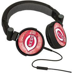 Cincinnati Reds DJ Logo Headphones - $34.99
